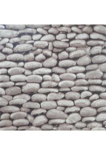 Papel De Parede Auto Adesivo 3D Pedra Natural Rustico - Cinza - Feminino - Dafiti