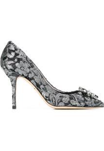 Dolce & Gabbana Scarpin Modelo 'Bellucci' - Preto