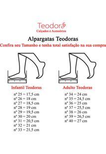 Alpargatas Teodora'S Em Tecido Al1914 Azul - Tricae
