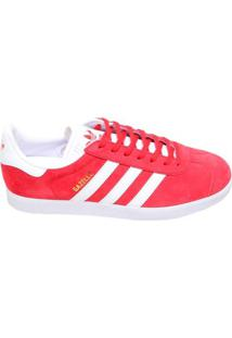 Tênis Masculino Casual Gazelle Adidas Vermelho