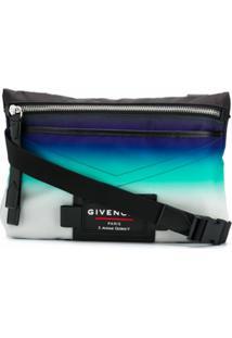Givenchy Bolsa Tiracolo Com Patch - Neutro