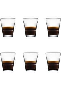 Jogo De Copos Para Cafe Capuccino Hudson 6 Peças 105Ml