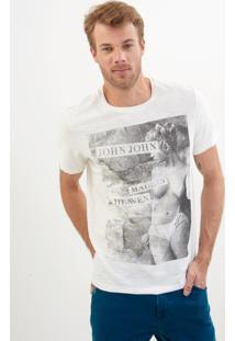 Camiseta John John Rx All Out Malha Off White Masculina (Off White, Gg)