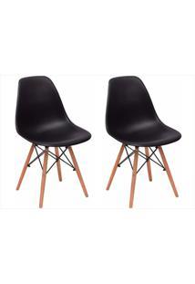 Kit Cadeiras Facthus Eiffel Preto