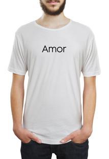 Camiseta Hunter Amor Branca
