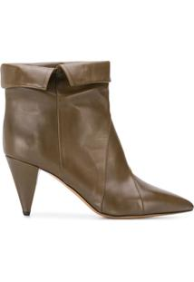 Isabel Marant Ankle Boot Larel - Verde