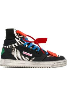 Off-White Off Court 3.0 High Top Sneakers - Preto
