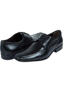Sapato Social Masculino De Couro Preto Upper - 40