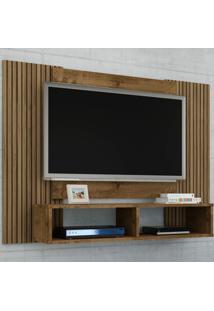 Painel Para Tv Até 42 Polegadas Navi Madeira Rústica/Ripado - Móveis Bechara
