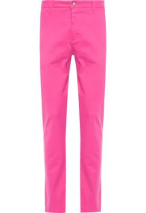 Calça Masculina Casual Iron - Rosa