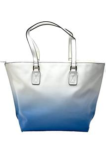 Bolsa Shopper Degradê Azul