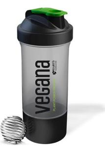Coqueteleira Vegana Com Misturador 600Ml - Unissex