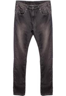 Calça Moletom Jeans Black Aleatory Masculina - Masculino