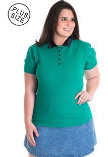 Camisa Polo Konciny Piquet 96311 Verde