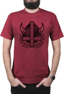 Camiseta Bleed American Vickings Vinho