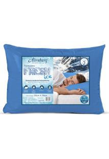 Travesseiro Altenburg Fresh Ice Azul Fresh Ice 50Cm X 70Cm Azul