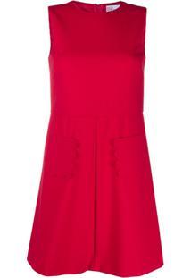 Redvalentino Vestido Reto - Rosa