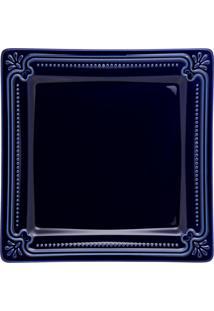 Conjunto De 6 Pratos Rasos 26,5X26,5Cm Provence Royal