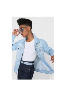 Jaqueta Jeans Billabong Such A Trip Azul
