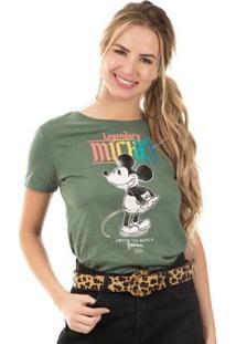 Blusa Com Estampa Com Relevo Verde Disney