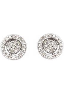 Astley Clarke Brincos De Ouro 14K Com Diamantes - Metálico