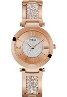 Relógio Guess Feminino Aço Rosé - W1288L3