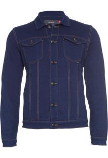 Jaqueta Masculina Box Jeans - Azul