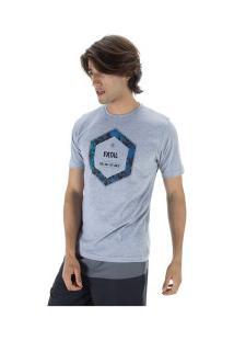 Camiseta Fatal Estampada 22152 - Masculina - Cinza