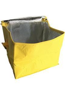 Bolsa Térmica Belfix Com Capacidade Para 24 Latas Em Poliéster - Unissex