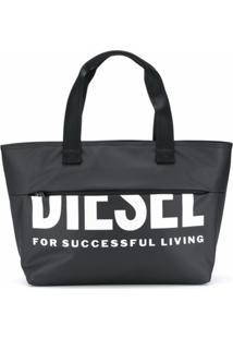 Diesel Bolsa Tote F-Bold Shopper Iii - Preto