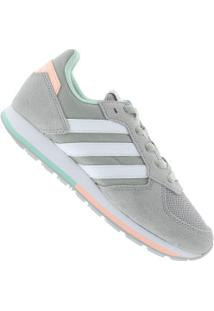 b6d41a52539 ... Tênis Adidas 8K - Feminino - Cinza Cla Branco