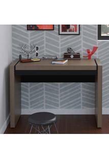 Mesa Para Computador Com 1 Gaveta Mille – Artany - Avela / Preto