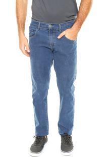 Calça Jeans Fiveblu Reta Cambridge Azul