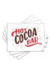 Jogo Americano - Hot Cocoa Com 4 Peças - 1158Jo