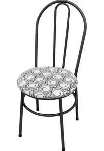Cadeira Milla Craqueado/Tick Espiral Açomix