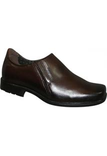 Sapato Pegada - Masculino-Café