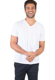 Camiseta Taco Gola V Básica Masculina - Masculino