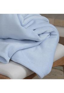 Cobertor Super Soft Azul - Scavone - Azul - Dafiti