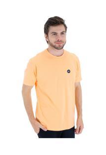 Camiseta Hd Basic Label - Masculina - Laranja Claro