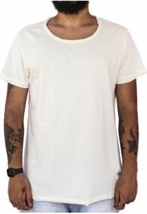 Camiseta Manga Curta Lisa - Masculino