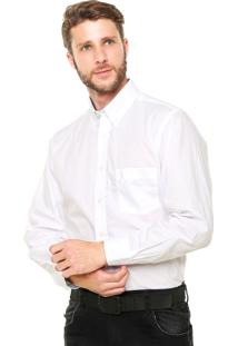 Camisa Aleatory Bolso Branca