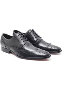 Sapato Ingles Social - Masculino-Chumbo