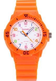 Relógio Skmei Analógico 1043 Laranja