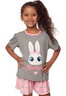 Pijama Bailarina- Rosa Claro & Cinzapuket