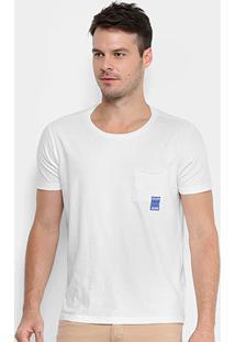 Camiseta Com Bolso Calvin Klein Manga Curta Masculina - Masculino