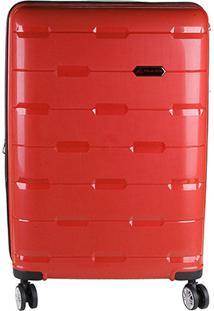 Mala Polo King Abs 360 Cadeado Tsa Masculina - Masculino-Vermelho