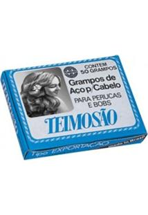 Grampos De Cabelo Teimosão Loiro N.7 C/50