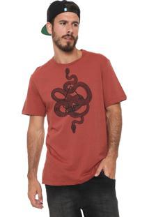 Camiseta Mcd Snakes Laranja