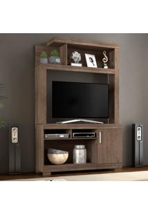 Estante Para Home Theater E Tv 43 Polegadas Zara Castanho