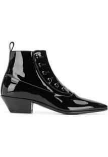 Saint Laurent Ankle Boot Gabsty - Preto
